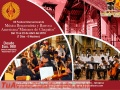 "XII Festival Internacional de Música Barroca  ""MISIONES JESUITICAS DE CHIQUITOS"""