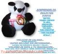Oso Panda de peluche Gigante, 1.85 metros, Menudeo y MAYOREO…