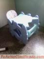 En venta Silla Comedor y escritorio para Bebes..