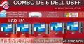 COMBO X5 COMPUTADORAS COMPLETAS MARCA DELL