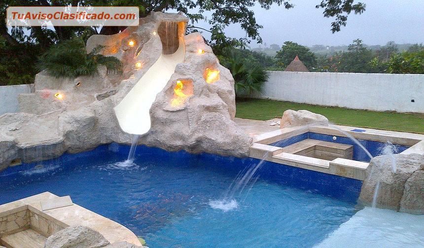 Construcci n de piscinas y fuentes en panam servicios y for Construccion de piscinas en mexico