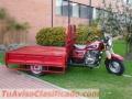 Motocarro Yitaki, nuevo, para carga, Motor 200 c.c. 4 tiempos, encendido eléctrico y mecán