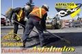 TRABAJOS DE ASFALTOS PARCHES BACHEOS SLURRY SEAL ,VENTAS DE ASFALTOS Y EMULSIONES RC-250