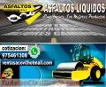 Emulsion asfaltica en presentacion  de cilindro
