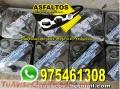 Venta de  BARRERA DE VAPOR, PEGAMENTO ASFALTICO  CEL: 975461308