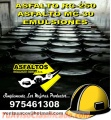 BREA FRIA  X CILINDROS , PEGAMENTOS ASFALTICOS , BARRERAS DE VAPOR X55GLS