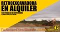 ALQUILER DE RETROEXCAVADORAS