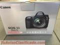 Cámara Digital SLR Canon EOS 5D Mark IV con objetivo EF 24-105mm II USM