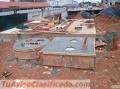 Construcción de plantas de tratamientos y fuentes.