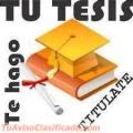 ELABORACION TESIS Y PROYECTOS UNA, UNE, UCSAR, YACAMBU, ENAHP