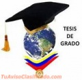 TESIS Y ANTEPROYECTOS PRECIOS UCV, IESA, UCAB, USB, USM, UNIMET, ULA, UDO