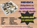 APARTAMENTOS DE 60M² DESDE 35MILLONES EN ADELANTE