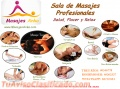Variedad en tecnicas de masajes