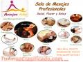 Masajes profesionales para damas y caballeros