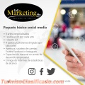 Paquete básico Social Media