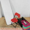Venta de Mesas y Sillas Plegables para Niños