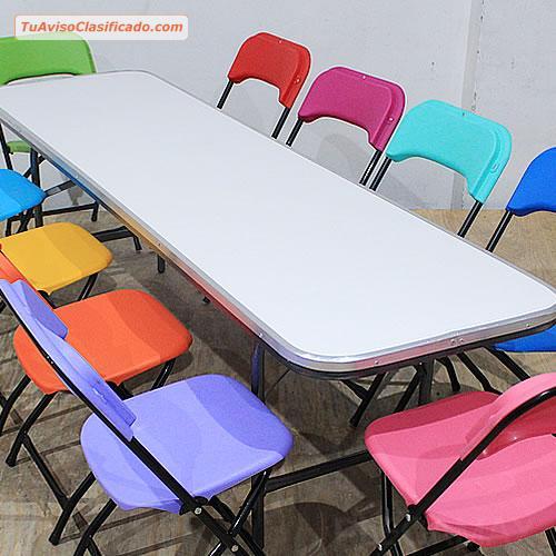 Y Venta Mobiliario Mesas De Sillas Para Equipa Niños Plegables wPiTkuOXZ