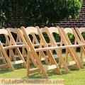 Venta de sillas de madera plegables
