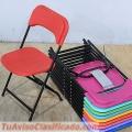 Venta de sillas plegables infantiles