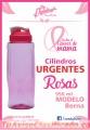 Cilindros Publicitarios Rosas Eventos Cáncer de Mama