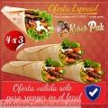 Menús de  kebab en ofertas