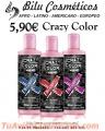 Crema colorante para el cabello