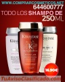 Aprovecha estas ofertas en  shampu kerastase