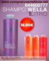 Bilu te trae esta oferta de shampu wella 16.90€