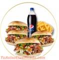 Los mejores menús de Kebabs a domicilio