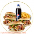 El mejor sabor esta con kebab pak
