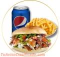 En kebab pak esta el mejor sabor