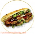 Ven y come uno de nuestros kebabs