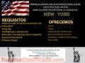 OPORTUNIDAD DE EMPLEO EN NEW YORK