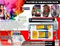1A  Equipos en venta ploter sublimación , maquinas EPSON de impresion digital textil