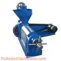 Prensa extrusora de oleaginosas extracción de aceites 150-200 kg/hr