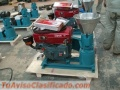 Peletizadora Meelko  150mm 8 hp Diesel para alfalfas y pasturas 120-150kg