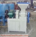 Prensa Meelko para hacer carbon en briquetas 1-2 Toneladas hora