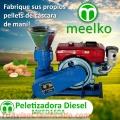 Peletizadora Meelko 150 mm 8 hp DIESEL para concentrados balanceados 80-130 kg/h - MKFD150