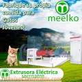Extrusora Meelko para alimento de perros y gatos 1800-2000kg/h 132kW - MKED200B