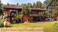 Casas ecológicas con alberca, jacuzzi y bosque