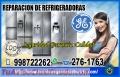 Máxima Eficiencia! Reparaciones Refrigeradoras General electric- 998722262 - El Agustino
