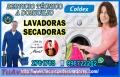 Garantia!!  Servicio tecnico de lavadoras coldex 2761763  san borja