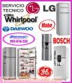 Técnicos de refrigeradoras reparación y mantenimientos 993076238