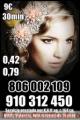 910312450-806002109 vidente capaz certera y precisa las 24 horas  Promoción visa 9€ 30 min