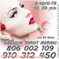 806 002 109 LAS 24 HORAS VIDENTE  TAROTISTA 910312450 - 20€ 80min LAS 24 HORAS