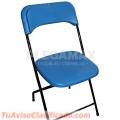 Vendo sillas resistentes de plastico para alquiler