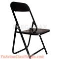 Vendo sillas plegables al mejor precio