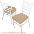 Vendo sillas que se ajustan a tus necesidades de cada evento