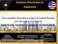 EMPRESA AMERICANA REQUIERE PERSONAL