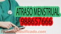 Solución Rápida al Atraso menstrual 98865766 en Comas Lima